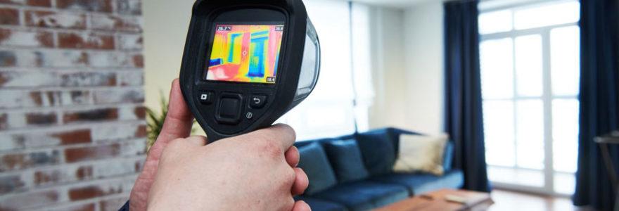 caméra d'inspection de fuite